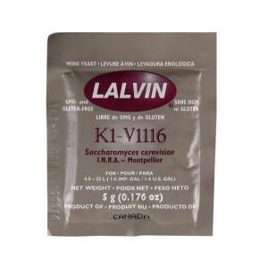 Дрожжи Lalvin V1116 5G
