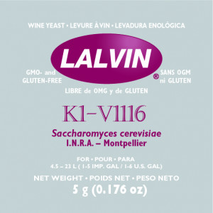 Дрожжи 'LALVIN V1116' 5G