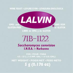 Дрожжи 'LALVIN 71B' 5G