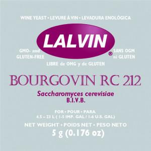 Дрожжи 'LALVIN BOURGOVIN RC212' 5G