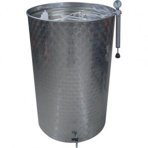Емкость брожения с плавающей крышкой AISI304